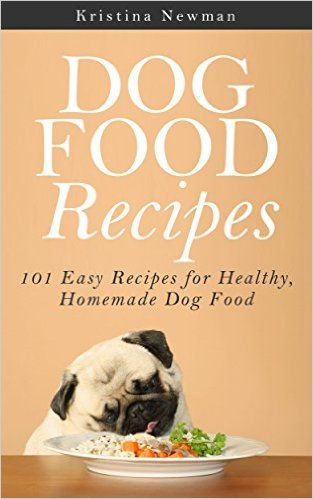 free ebook with 101 easy recipes for healthy homemade dog food!!
