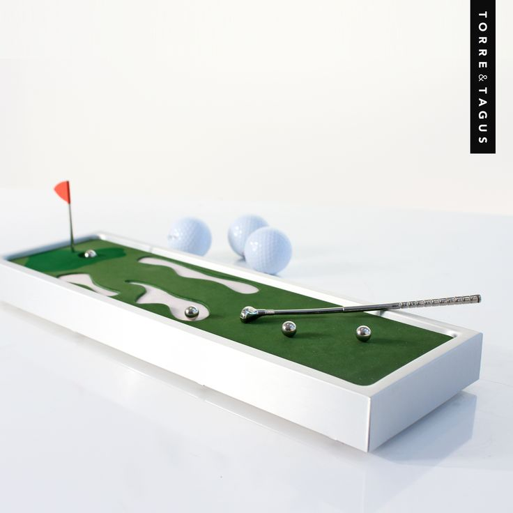 Another great gift idea for Dad! FORE busy Dad's who don't always have time to get out on the course. Bring his love of the game to him with this Retro Tabletop Mini Golf game. www.torretagus.com  #TorreAndTagus #fathersdaygifts #FathersDay #giftideas