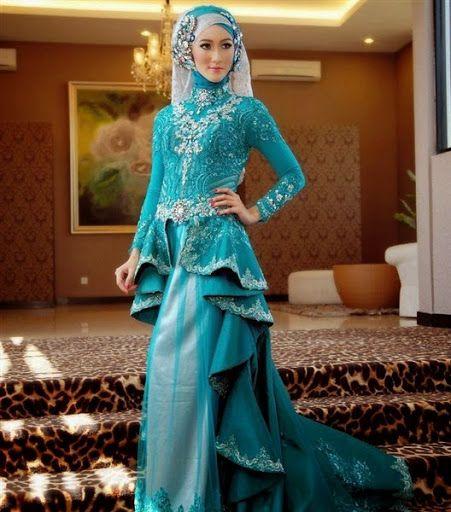 New fashion dress muslimah pengantin