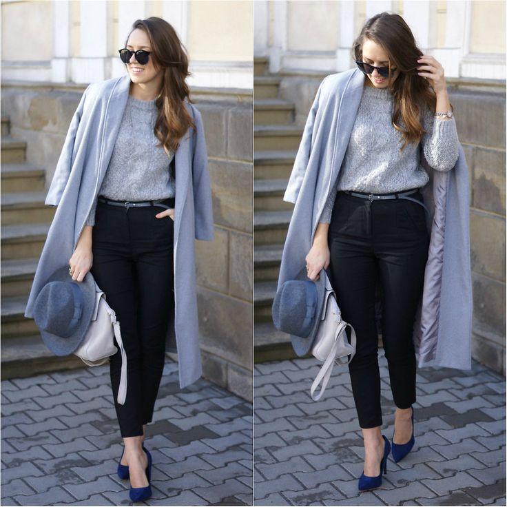 Natalia P. - Gray and black look