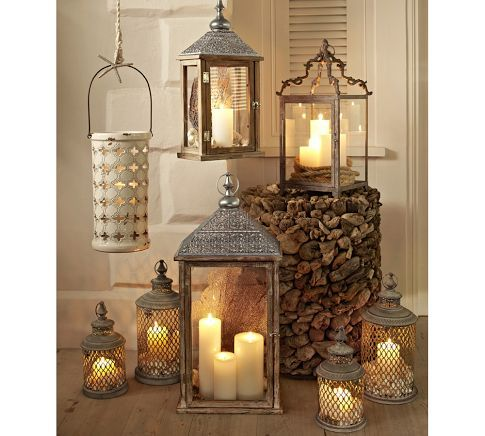 Lynden Lanterns | Pottery Barn