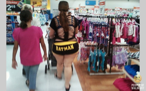 Meanwhile In Walmart... Omg! There are pictures worse than this! Haha