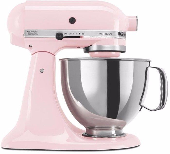 KitchenAid Pink Artisan Series 5-Quart Stand Mixer with 10-Speed Control Panel #KitchenAid