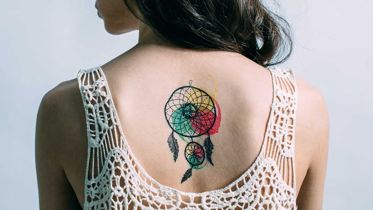 Dreamcatcher Temporary Tattoo - Outliers.ro