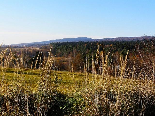 Autumn in Świętokrzyskie mountains. by djacek67, via Flickr