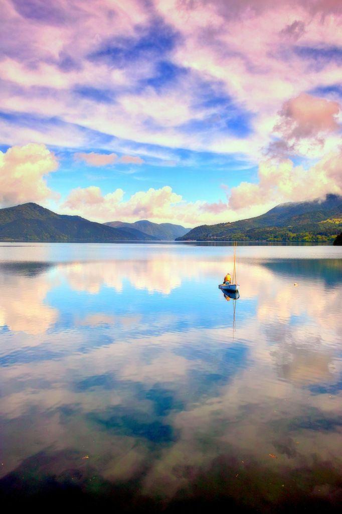 Lake Ashinoko, Kanagawa, Japan