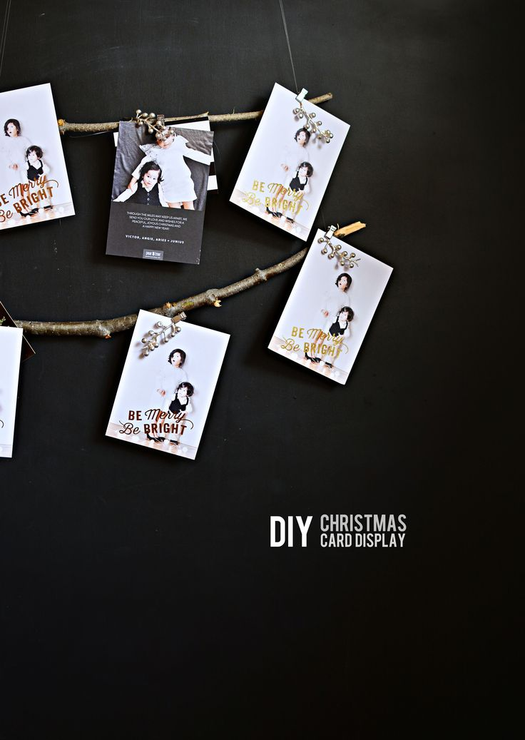 Blog post at Little Inspiration : This is a DIY post on behalf of Pear Tree Greetings.  Are you finalizing and sending your Holiday cards yet?