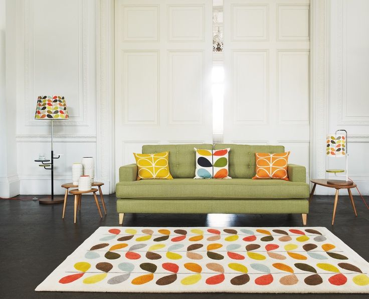Love this gorgeous Orla Kiely design rug - doesn't it bring that floor to life?