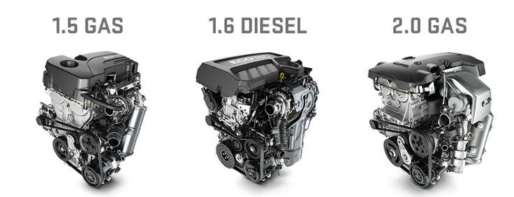 2018 GMC Terrain Motor Specifications