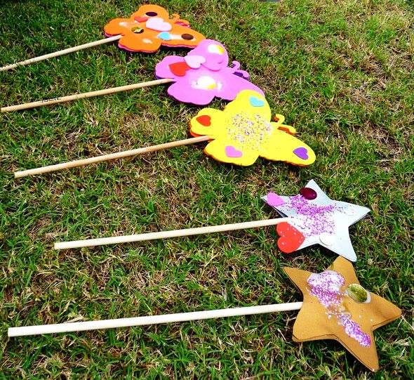 675 best images about tinkerbell fairy party on pinterest for Birthday wand