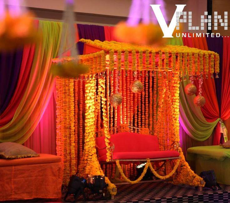 Mehndi Jhoola Decoration : Best mehndi decor images on pinterest