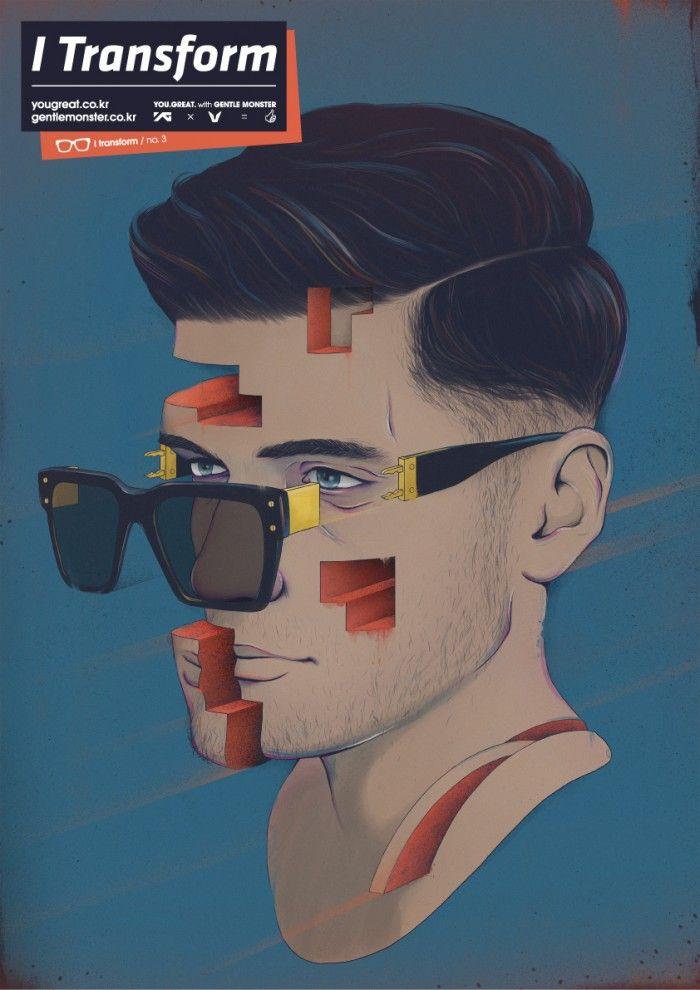 Transform - 그래픽디자인, 디지털아트, 일러스트