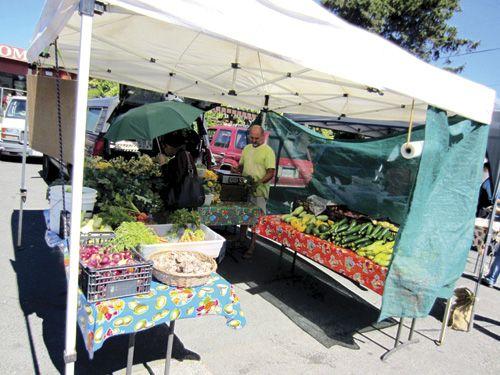 Guerneville farmers market open Thursday nights through the summer