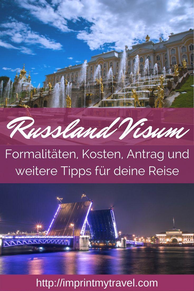 Visum für Russland beantragen. Wir zeigen dir Schritt für Schritt, welche Formalitäten du zu erledigen und mit welchen Kosten du rechnen musst! Außerdem geben wir dir Tipps für deine Russland Reise.