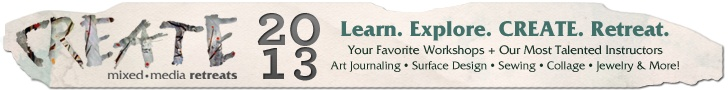 Mixed-Media Art Techniques: The Benefits of Keeping a Sketchbook - Cloth Paper Scissors Today - Cloth Paper Scissors