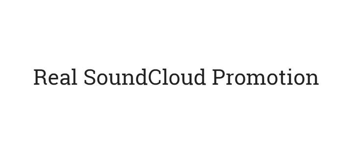 SoundCloud Promotion Services for Organic Music Promo - BuySCPlays