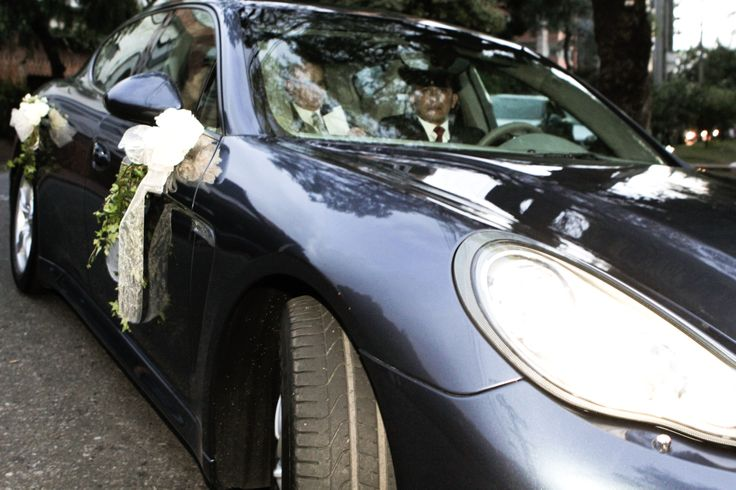 wedding car decoration, just married, boda