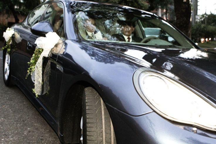 wedding car decoration, just married, boda