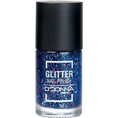 Nagellak Glitter Blauw