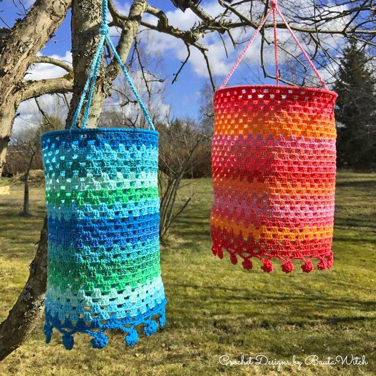 Materialkit till mina färgglada lanternor. BautaWitch.com.
