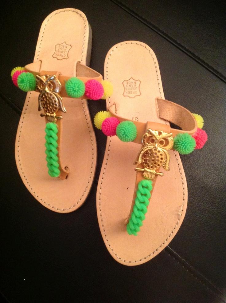 Handmade sandals 2013