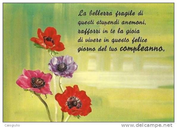 Favoloso 230 best buon compleanno images on Pinterest | Birthday wishes  OM75