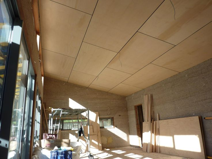 Culburra Hemp House: Ceilings and Internal Walls Completed