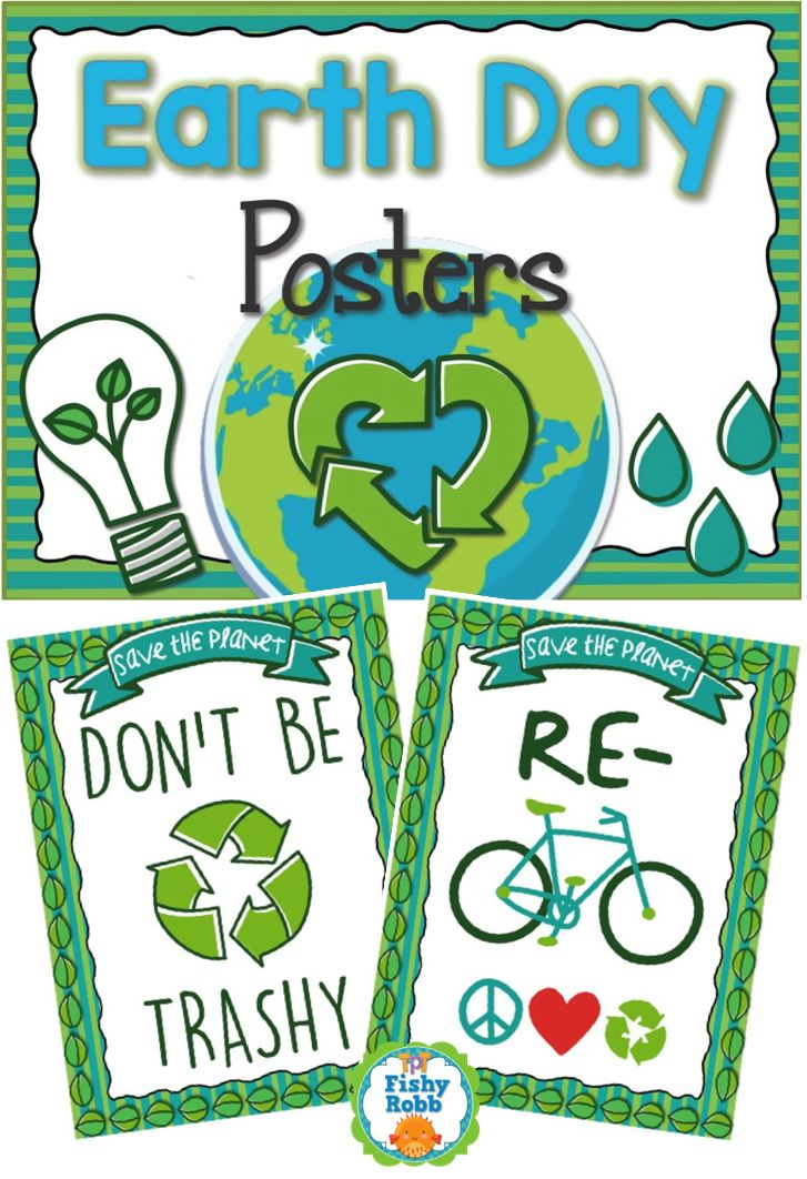 FREE Earth Day posters!