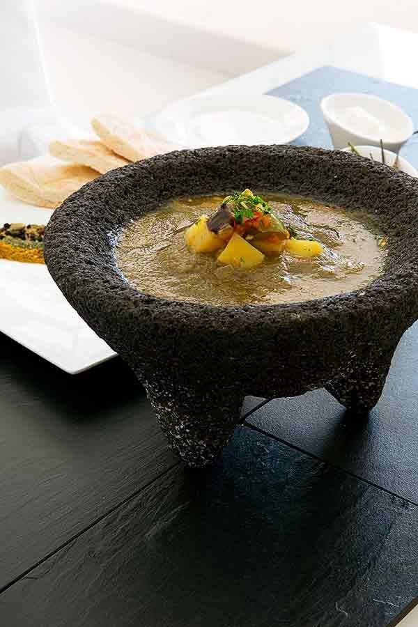 Saltah – Vegetable Stew Topped With Fenugreek Sauce #saltah