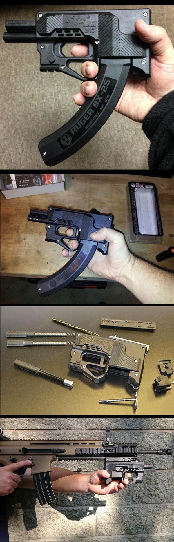 ZIP 22 : Pistol Bullpup version