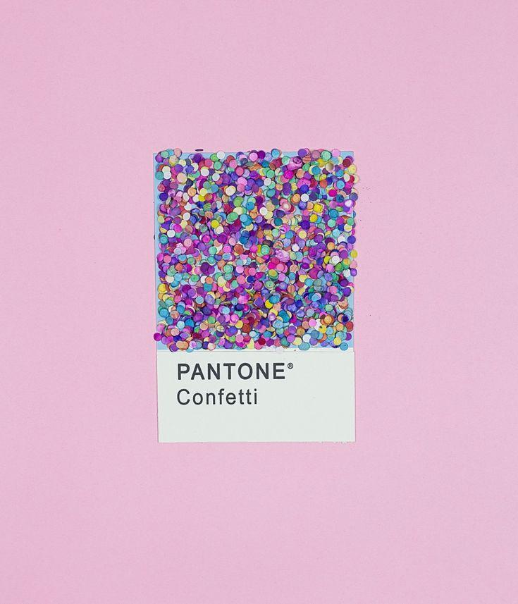 art direction | confetti pantone