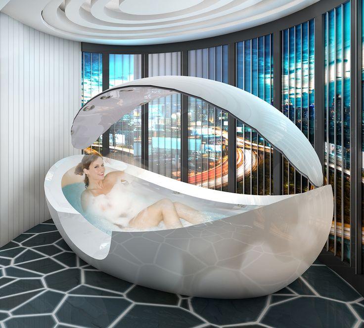 15 best images about bathroom of the future on pinterest shower valve futuristic technology - Futuristic bathroom ideas ...