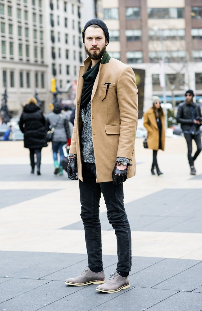 Mens fashion / Street Style in New York