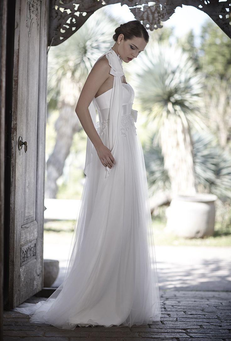 Mysecret Sposa Collezione Zaffiro Cod. 17107  #mysecretsposa #sposa #collezionesposa #abitidasposa #wedding #weddingdress #bride #abitobianco
