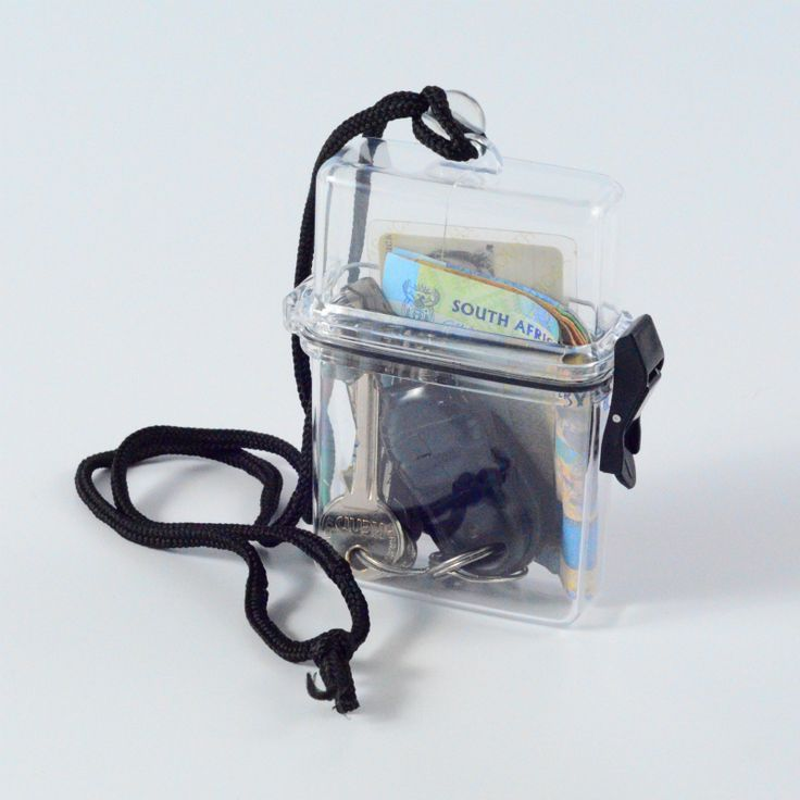 Keep items safe when you're chilling on the beach or going to gym with the Clear Beach Box with Black Neck Cord. Made of thick, durable plastic. Seal within the lid to prevent water from getting into the container. *Not … Continue reading →