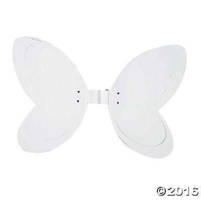 DIY Beautiful 3D Butterfly/Fairy Wings