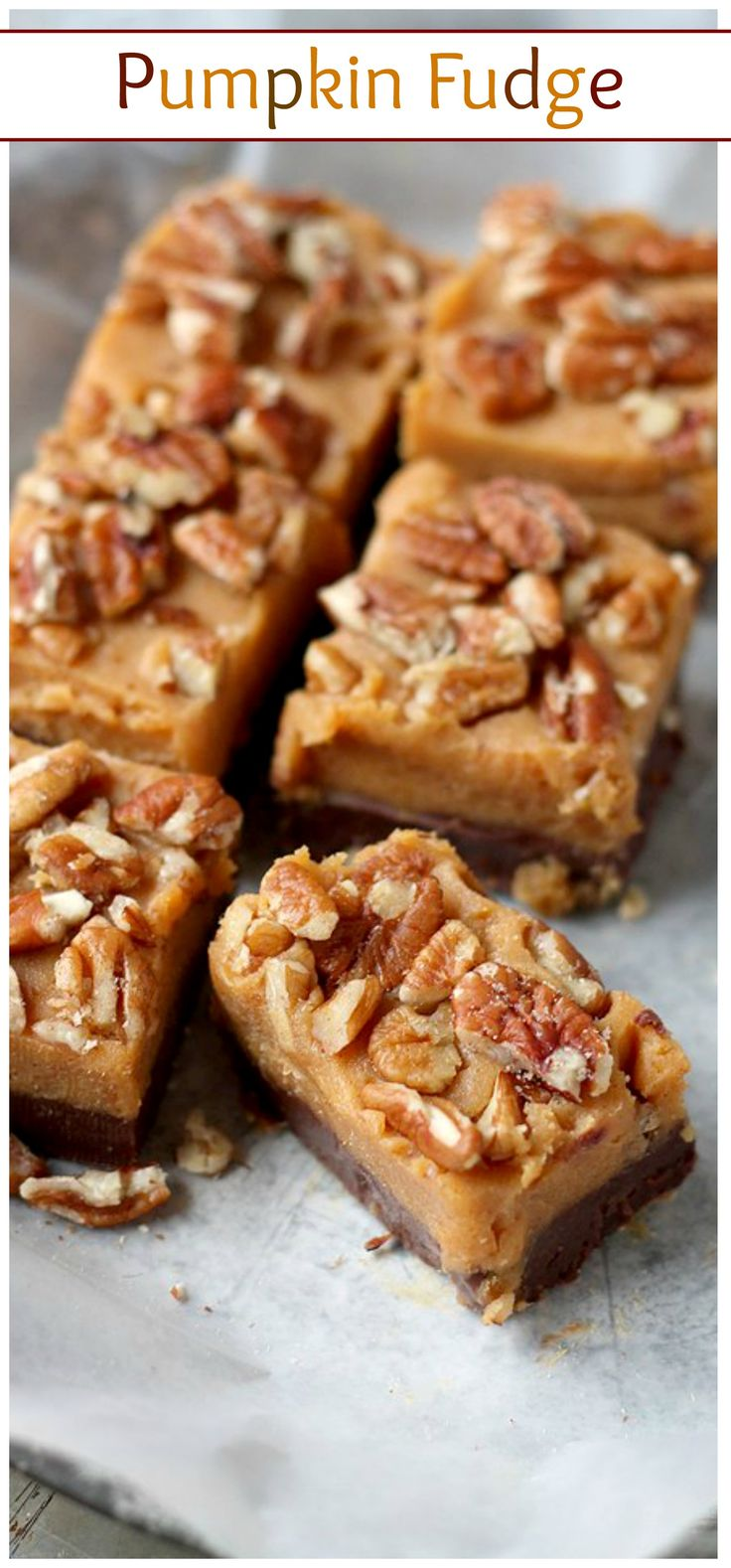 ... Pumpkin Peanut Butter Fudge | Recipe | Pumpkin Fudge, Fudge and Fudge