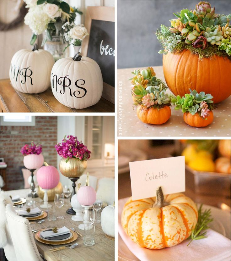 Top 10 Fall Bridal Shower Ideas | Use Pretty Pumpkins ...