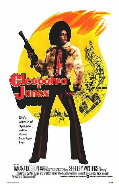 Cleopatra Jones aka Tamara Dobson #MyPinisBlack