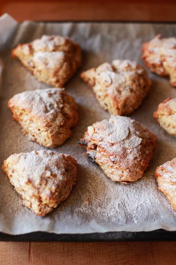 Stollen Scones//fairly long post, the recipe is toward the bottom of the page.