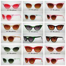 VTG 50s 60s Style womens Cat Eye Sunglasses Retro Rockabilly Glasses Vintage UK …