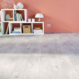 Lame PVC clipsable gris clair 122 x 15 cm Midori