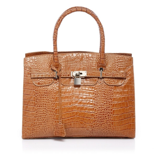 "Each ""Foley & Agamo"" bag is a true fashion piece to be cherished and treasured! Made with Italian leather this bag is a fine example of timeless European style and impeccable craftsmanship!"