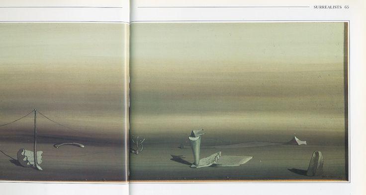Yves Tanguy Poetic Landscape Studio Search