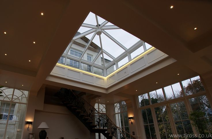 if you can imagine it, we can build it. Glazed roof, cupola, garden room, renovation