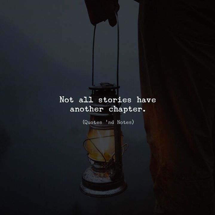 Not all stories have another chapter. by: Benjamin Alexander via (http://ift.tt/2m5cs3j)