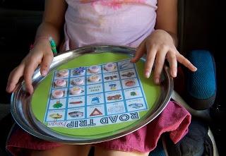 Ladybird Ln: Dollar Store {Magnetic} Car Activities