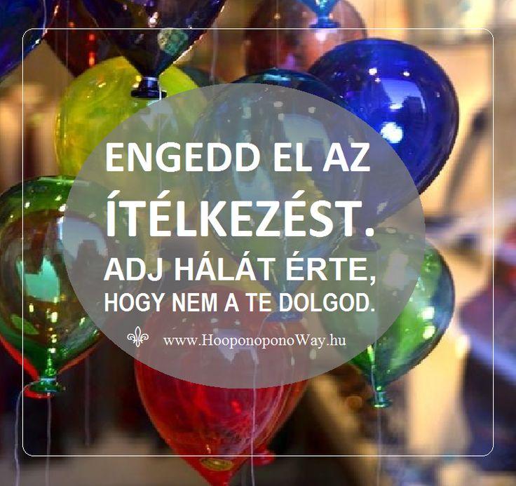 Hálát adok a mai napért. Bármi történik körülötted, nem kell felcímkézned. Egyetlen címke, és máris dobozba zárod magad. 🎈 Engedd el az ítélkezést. Adj hálát érte, hogy nem a te dolgod. Isten mindent lát. Az elszámolást ráhagyhatod. Így szeretlek, Élet!     Köszönöm. Szeretlek ❤️  ⚜  Ho'oponoponoWay Magyarország ⚜  www.HooponoponoWay.hu