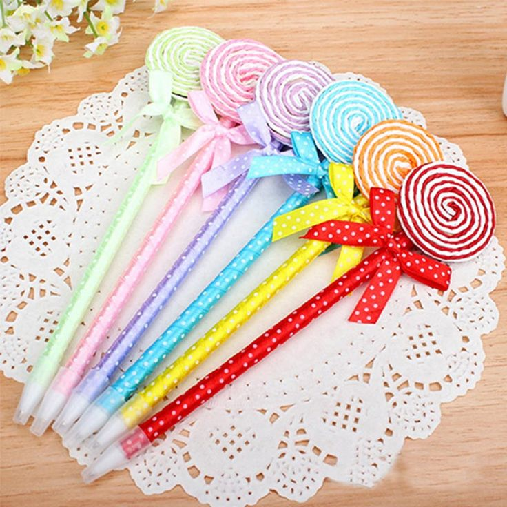Kawaii Butterfly Lollipop Ballpoint Pen
