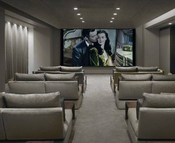 The Istanbul Edition screening room – the latest technology is used throughout the hotel. - Image - Design Build Network